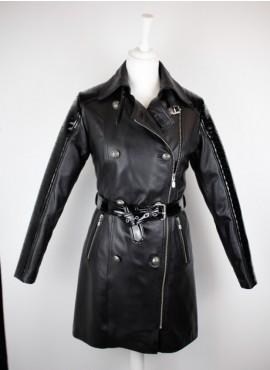 Abrigo piel militar NB