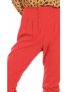 RED DANIELA TROUSERS