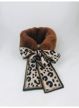 CUELLO PELO ANIMAL PRINT