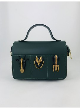 BOLSO TRIBAL-Verde