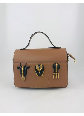 BOLSO TRIBAL-Marrón